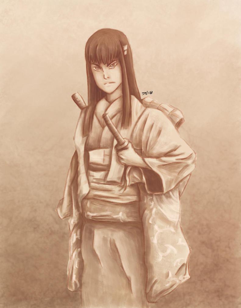 Satsuki Kiryuin Onna-bugeisha by Nolicedul