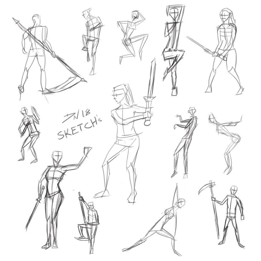 Gesture study by Nolicedul