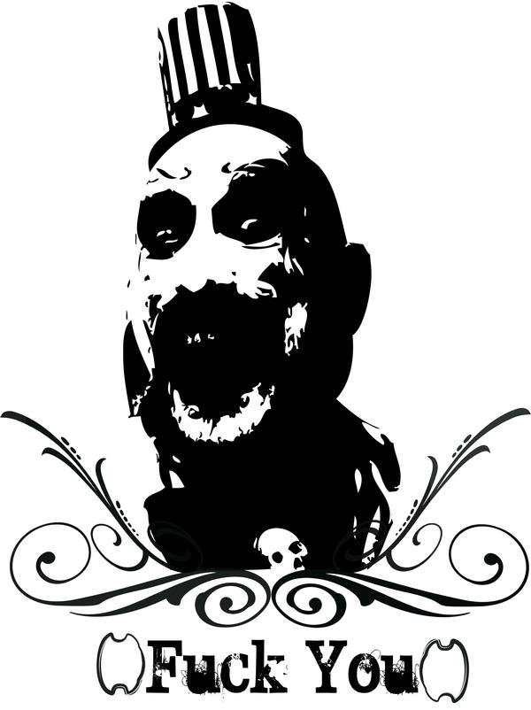 Captain Spaulding Stencil Related Keywords Suggestions Captain