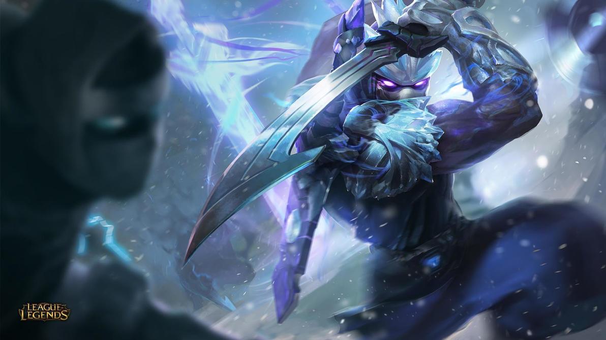 League Of Legends Frozen Shen Spl By Dousanxian