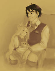 Aiden and Akira / Prize by katagro