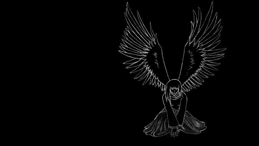 Angel Wings Wallpaper 169 By RazielIgor