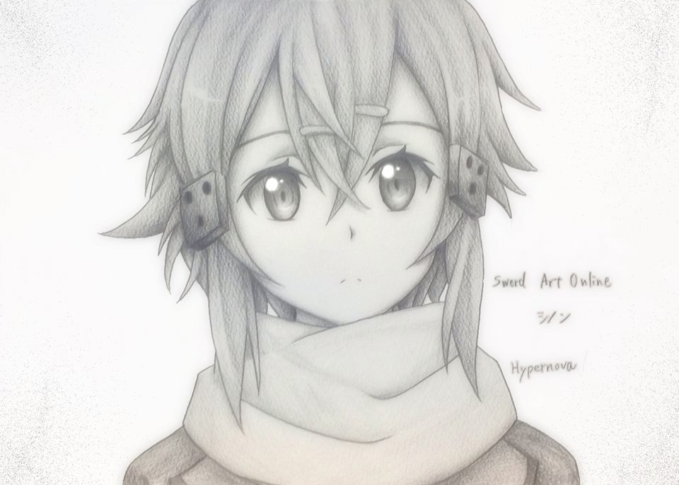 Sinon Drawing By Anime X Fangirl On DeviantArt