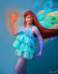Winx Club Bloom Enchantix Cosplay