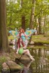 Winx Club Bloom and Layla Enchantix Cosplay