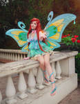 Winx Club Bloom Enchantix Cosplay
