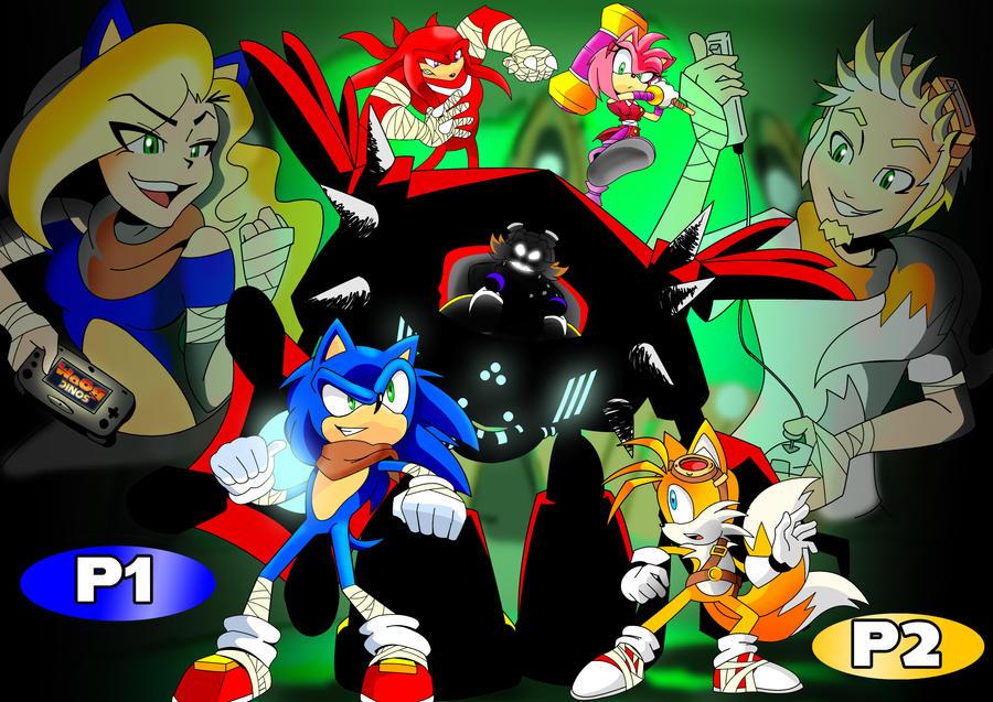 Sonic Boom: teamwork of gaming by MoonShadowDRAE