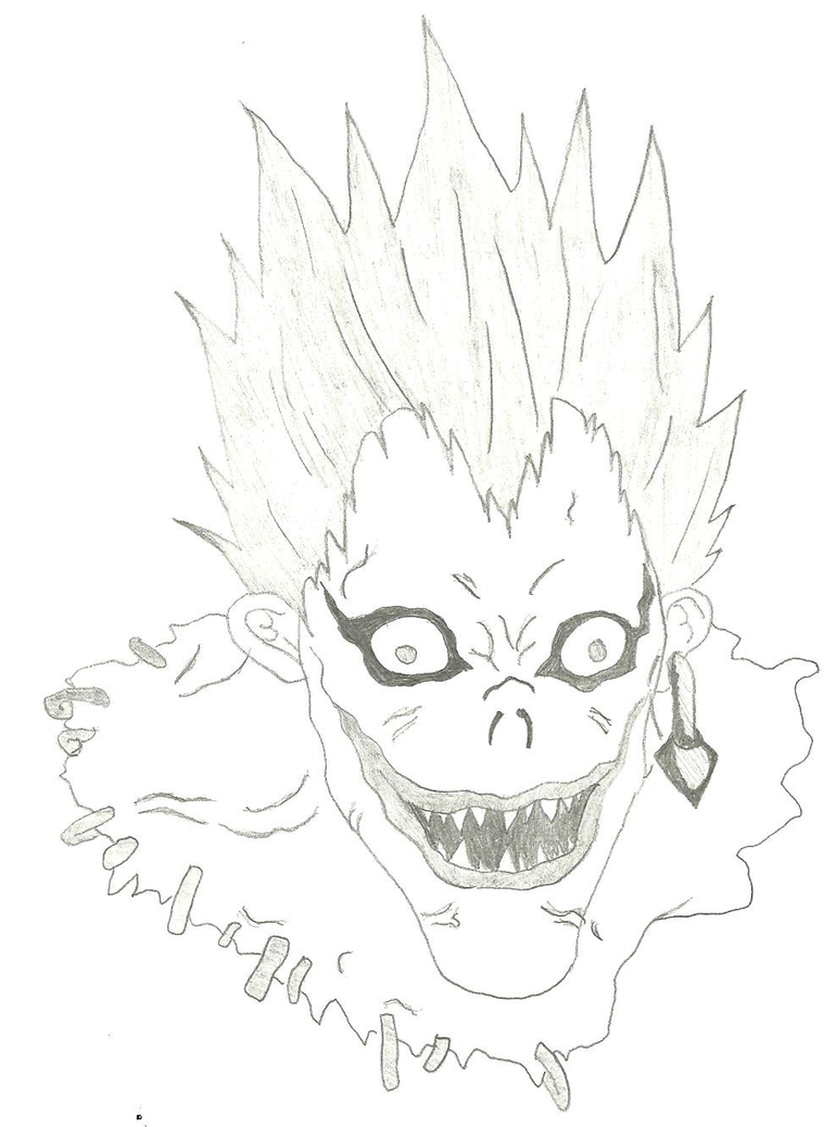 Ryuk The Shinigami by Raverect on DeviantArt
