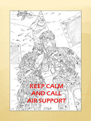 Keep Calm and Call Air Support