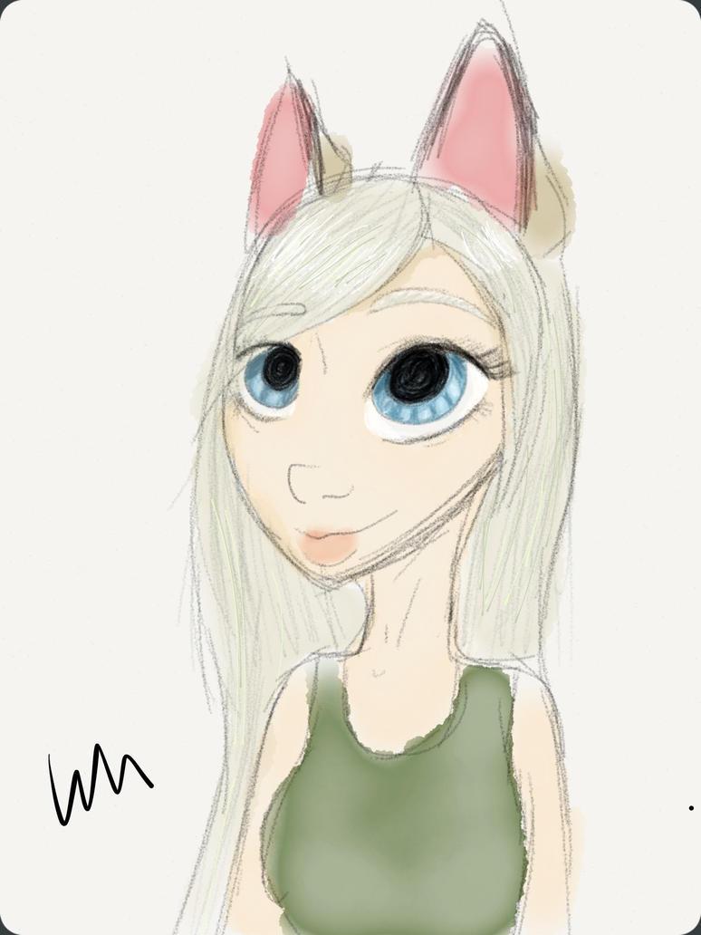 Bugsy redrawn by Wolfy-Malina