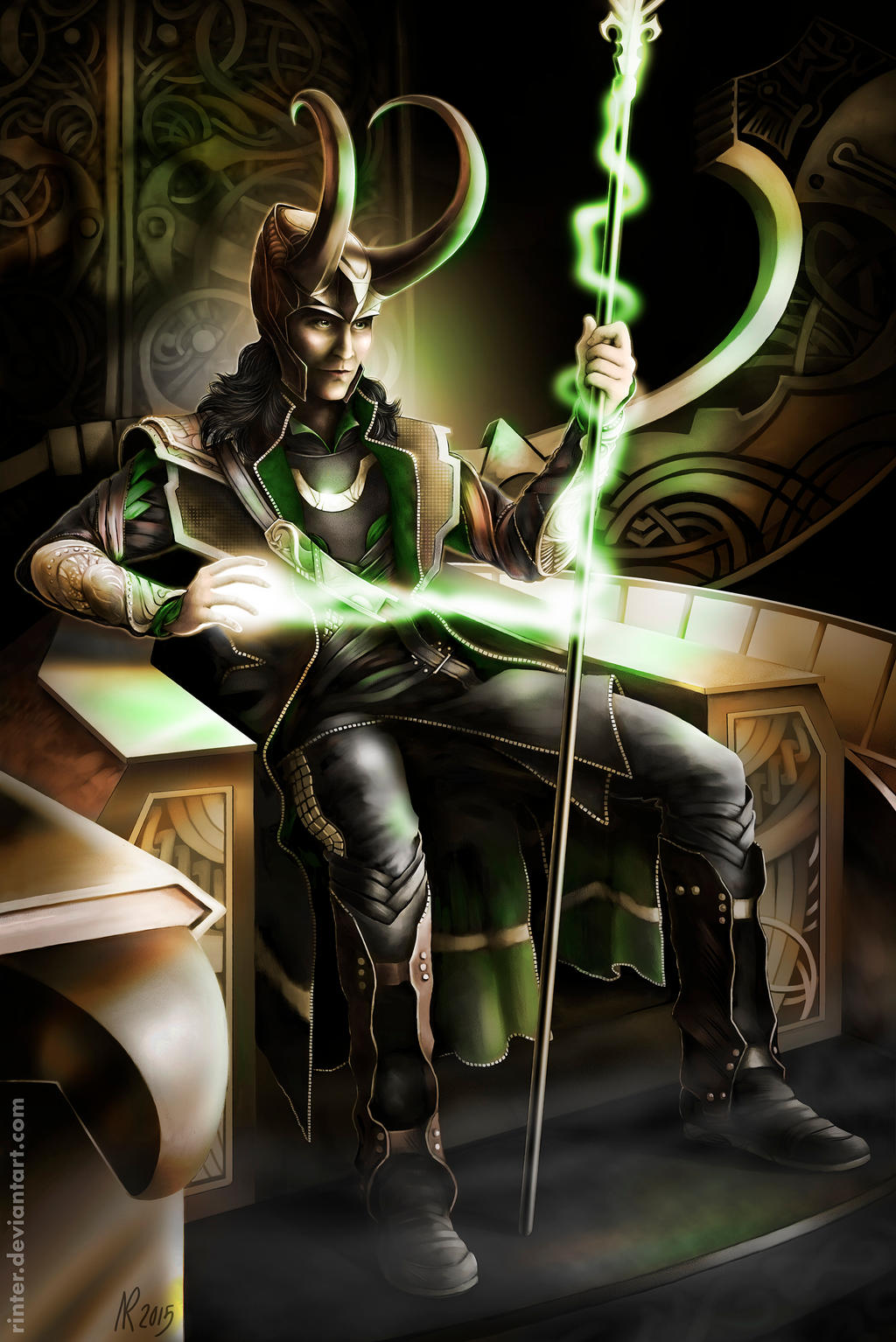 King Loki by Rinter