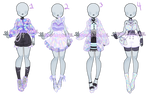 Holographic Outfit Adopt