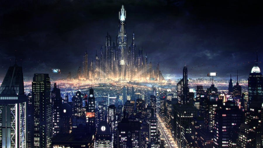 Cityscape from The Escape Short movie by as07