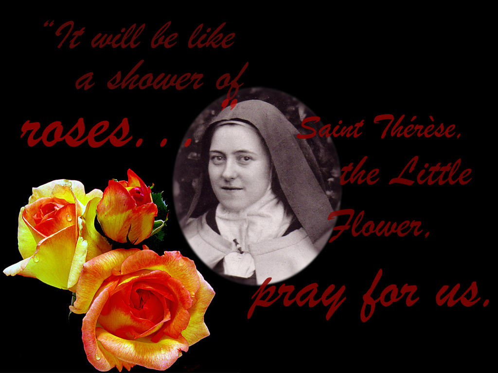 Little Flower St Therese by TheWindward on DeviantArt