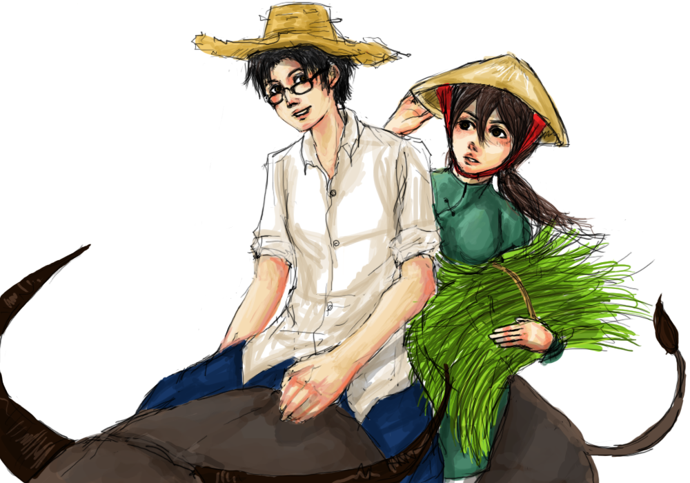"APH: Country Life :Thai""Viet by kaiba6"