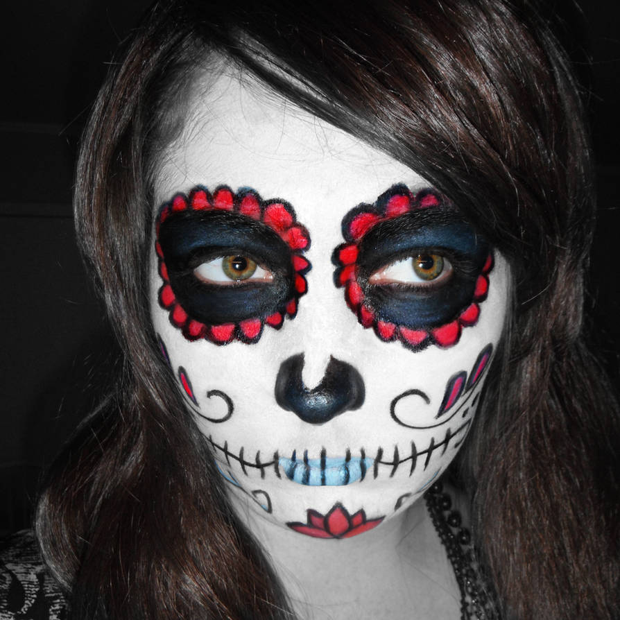 Dia de los Muertos Makeup by Antzie7 ...