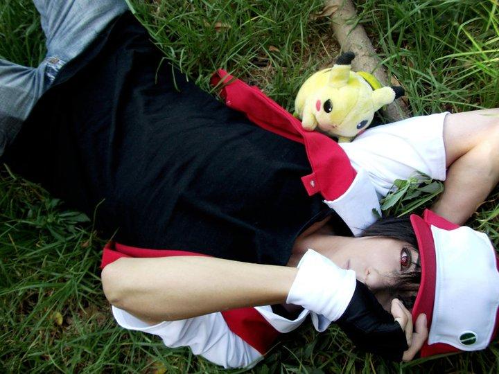 pokemon red cosplay by zettaicosplay on deviantart