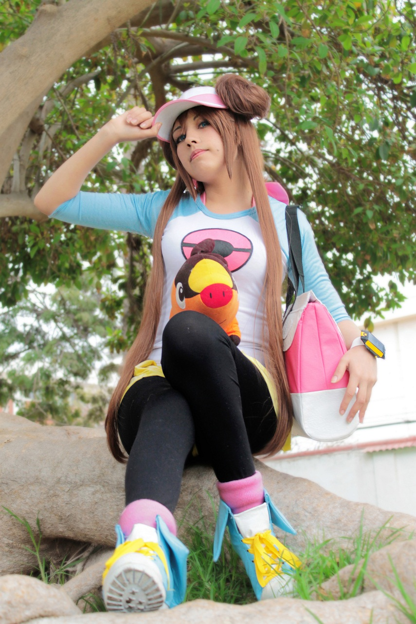 Mei Pokemon Black White 2 by Zettai-Cosplay