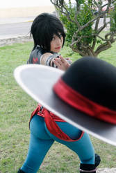 Kung Lao Cosplay by Zettai-Cosplay