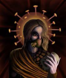 Saint Coronavirus by Theronius