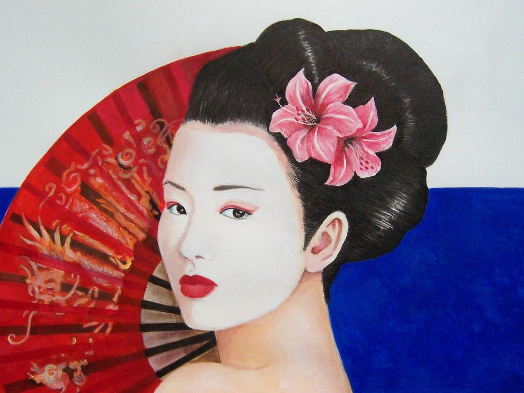 Particular geisha by Damaride