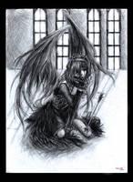 Fallen Angel by RYE-RuzTLE
