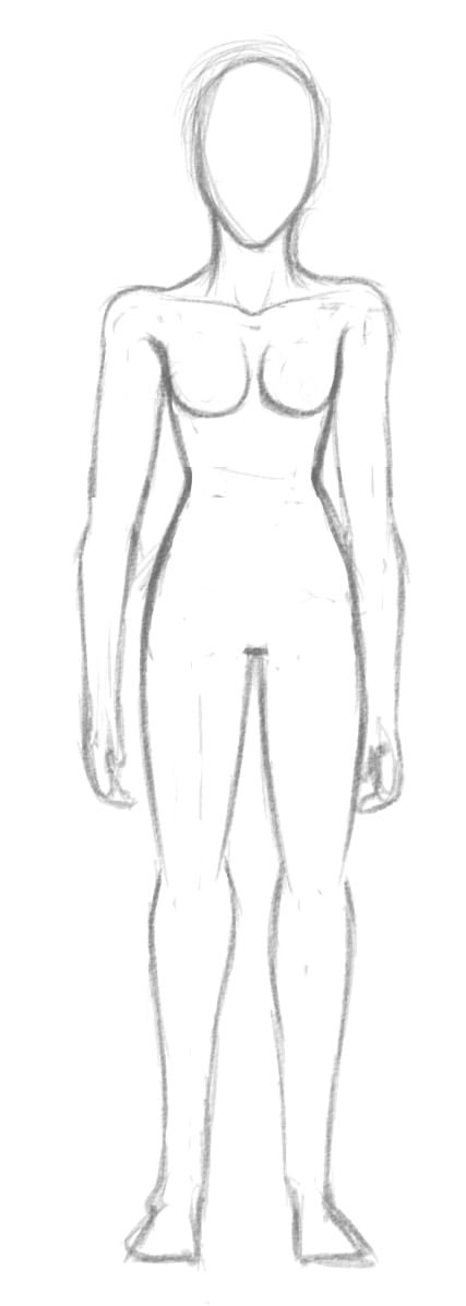 Practicing drawing bodies. by FeedMeFeedback
