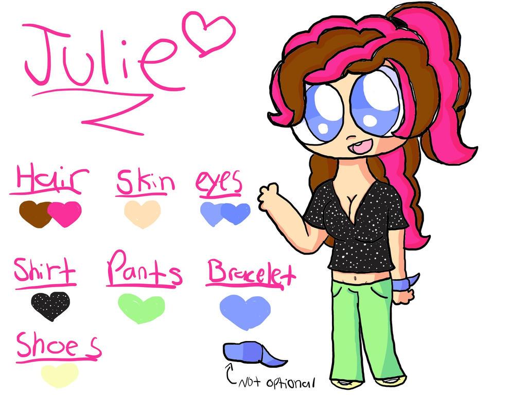 Julie Ref. by Lubby-Alexa