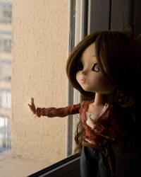 melancholic doll