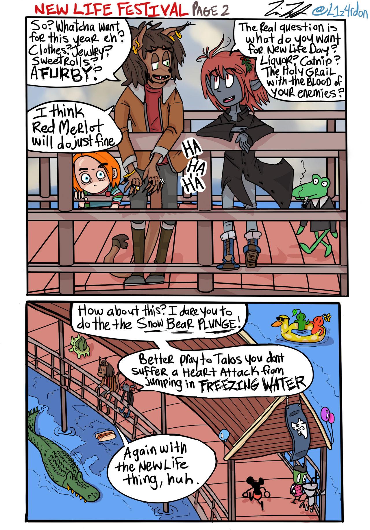 ESO New Life Fest fancomic page 2