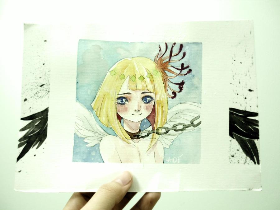 the angel by bxxMooNxxd