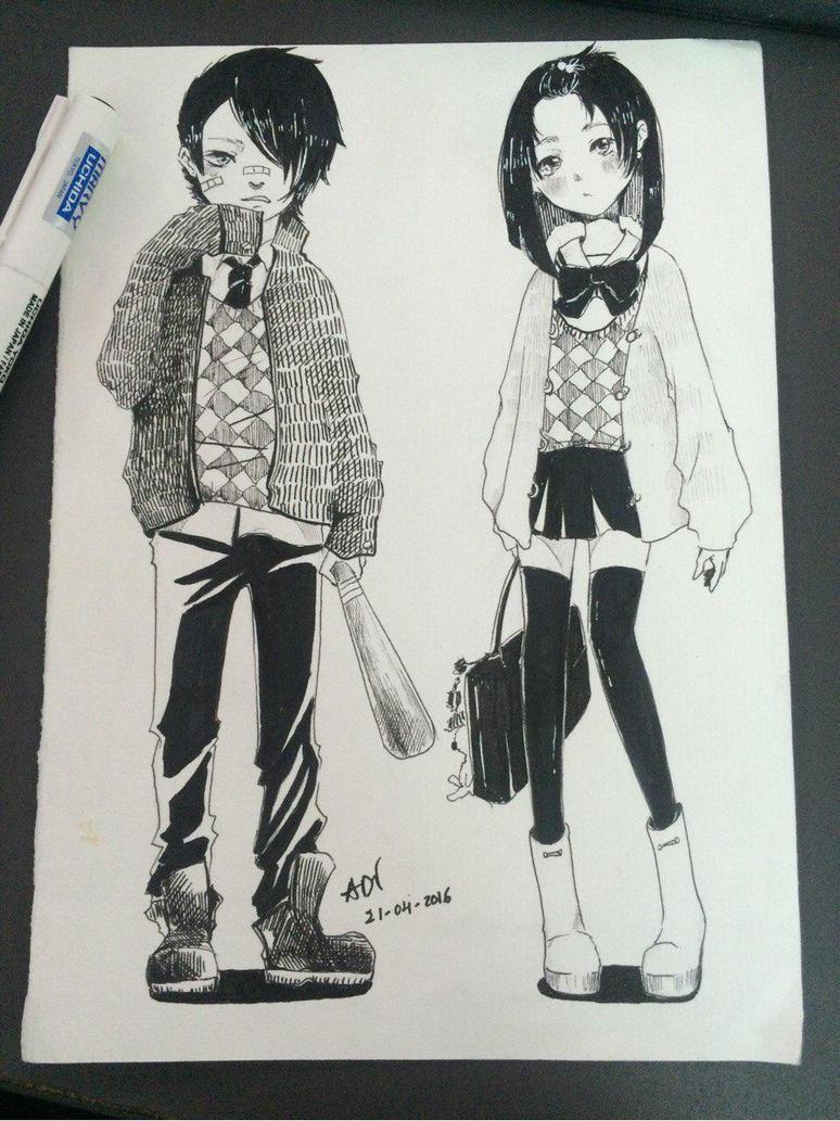 student style by bxxMooNxxd