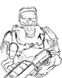 Sketch-A-Day - Master Chief