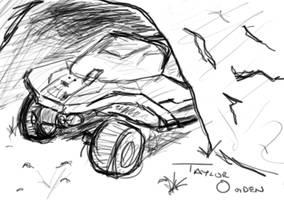 Sketch-a-Day - Warthog