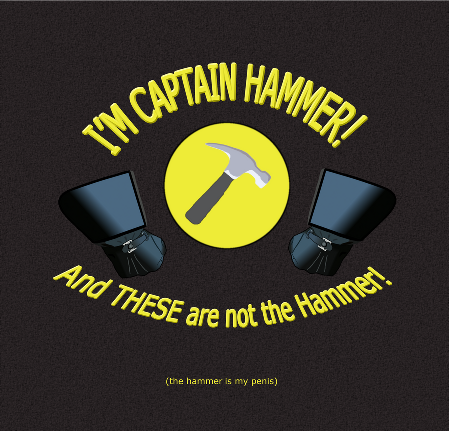 Captain Hammer's Hammer by jeffehunter