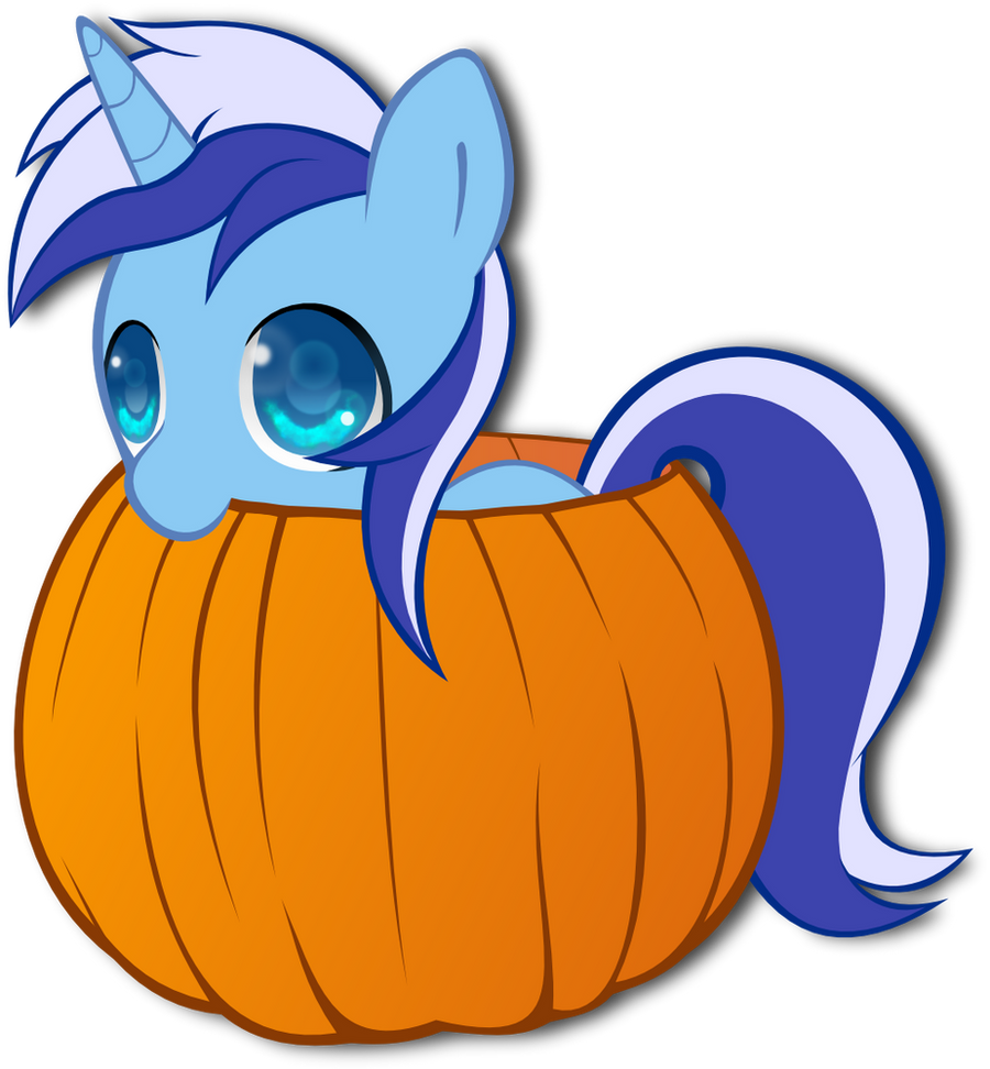 Colgate and the Pumpkin by FinalFlutter