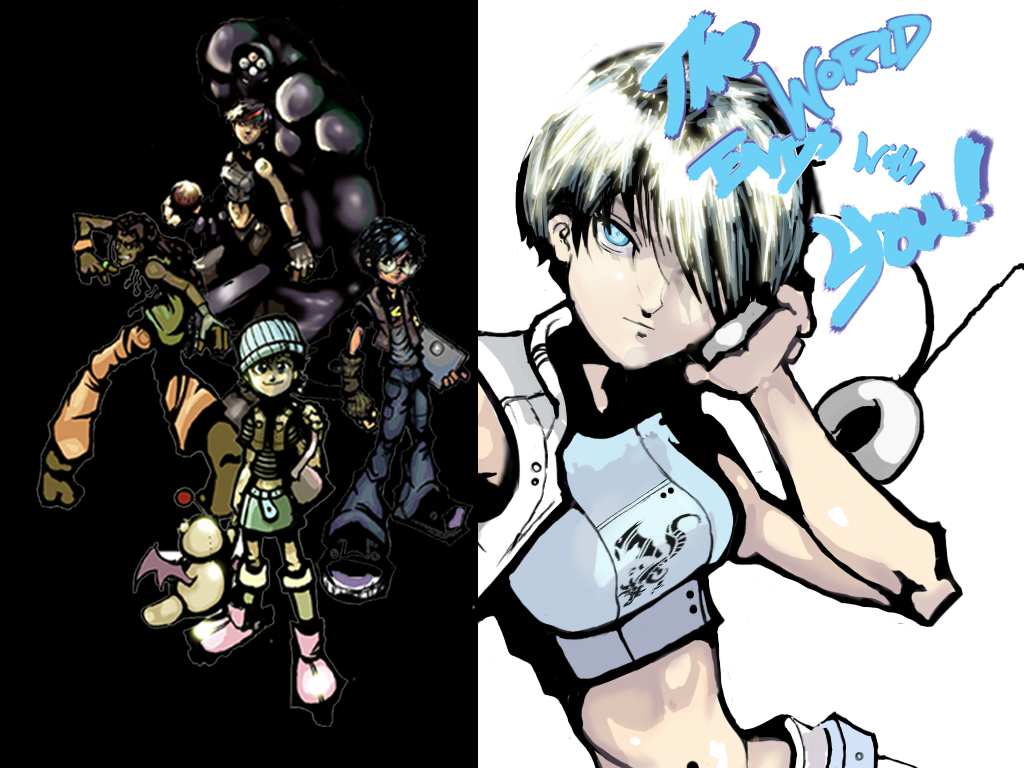 TWEWY - Wallpaper V.2 by Luminent-Wolf