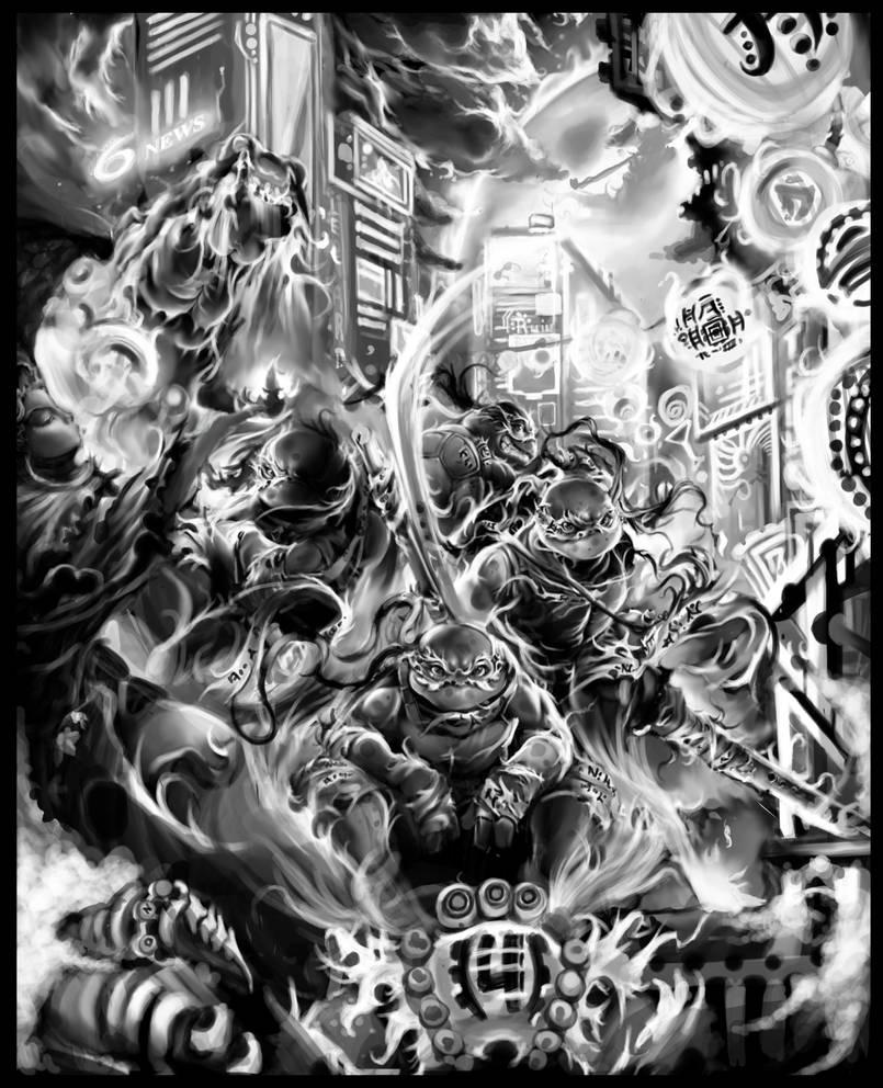 Ninja Turtles -Year of the Dragon