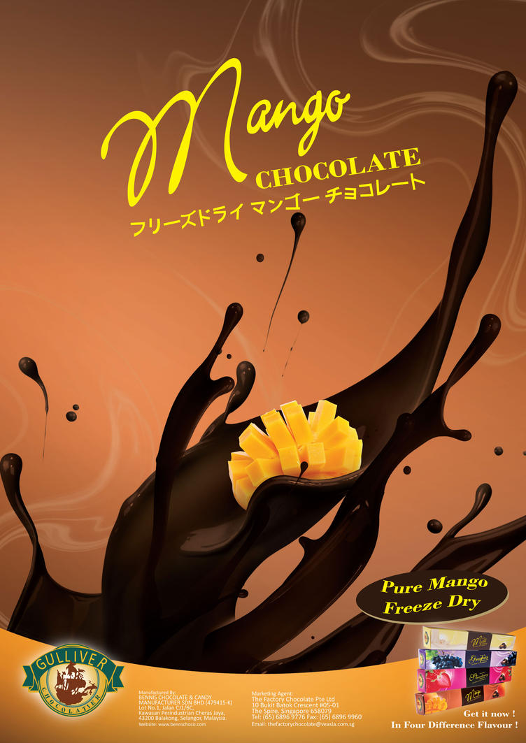 Poster for Mango Chocolate by SongYong on DeviantArt