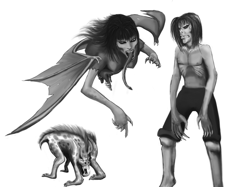 Aswang by necrophadian