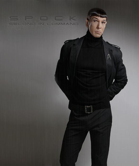Spock 001 by mr bestiya on deviantart
