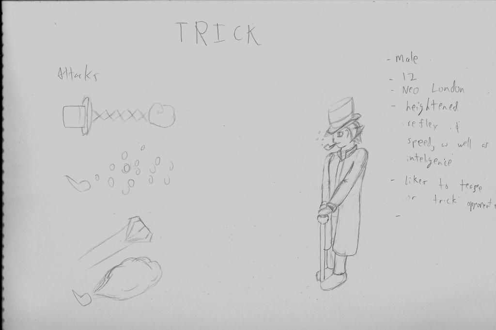 Trick Concept Art by kinomon