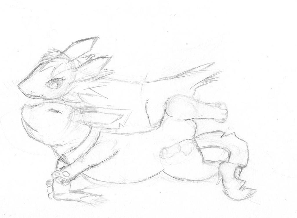 Emmy Com Sketch WIP by kinomon