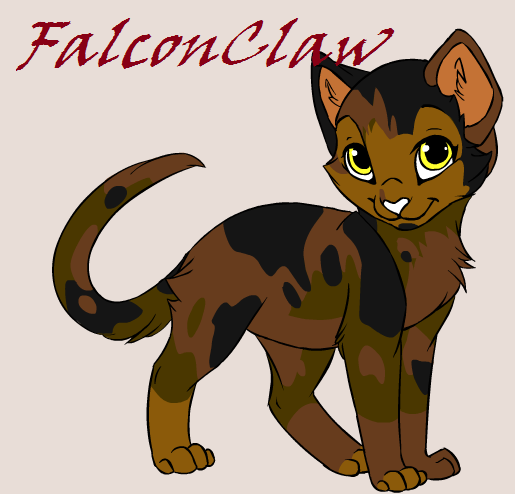 Warrior Cats Dawn Of The Clans Fanart: FalconClaw :Warrior Cats OC: By Thaddykins On DeviantArt