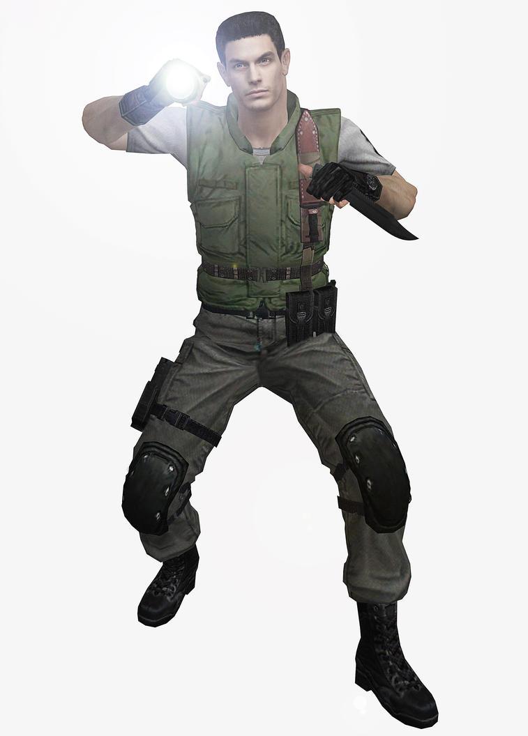 Костюм Криса Resident Evil