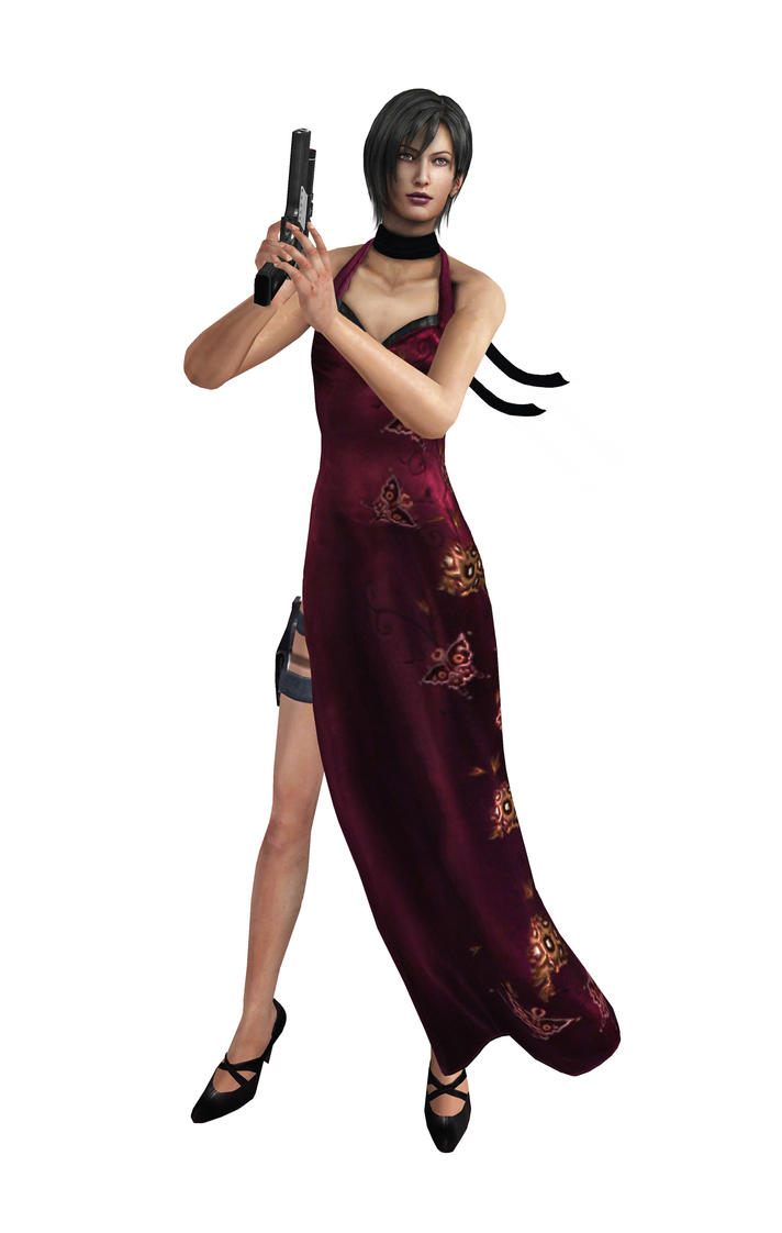 Ada Wong model 2 (Resident evil 4) by PhlegmaticPerson