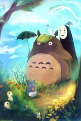 Ghibli by brbianca