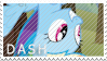 Dash Stamp by MyLittleLuckyWish