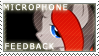 Stamp:Microphone Feedback by MyLittleLuckyWish