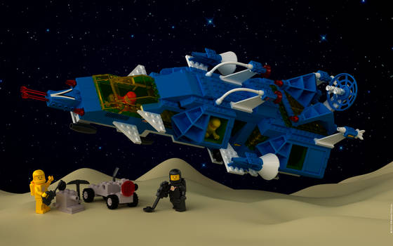 Lego Cosmic Fleet Voyager $3